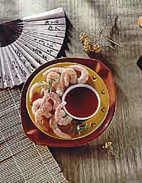 Low Fat Recipes: Chilled Shrimp in Chinese Mustard Sauce