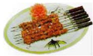 Chinese Food Recipe: Roast Mutton Kebabs