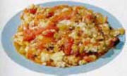 Chinese Food Recipe: Scrambled Eggs with Tomatoes