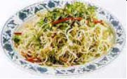 Chinese Food Recipe: Spicy Fragrant Mung Bean Sprouts