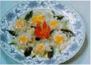 Chinese Food Recipe: White Fungus Peony Flower