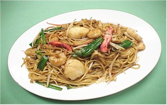 Crab Meat Lo Mein